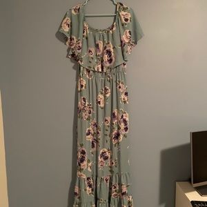 Altar'd State maxi floral dress in GREAT CONDITION